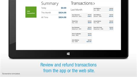 Credit Card Terminal App For Windows In The Windows Store