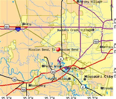 map of mission texas bend texas