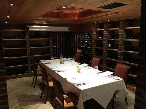 Bonterra Dining And Wine Room old church turned into a wine cellar with 10 person