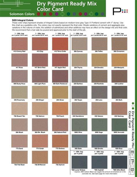 cement colors pro cement color page pro cement