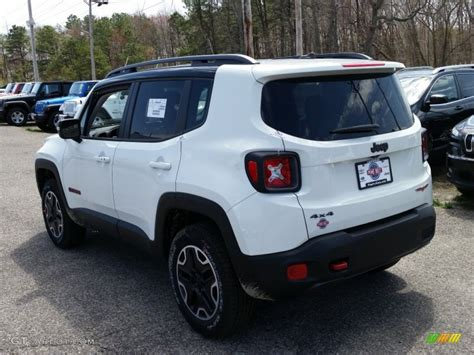 jeep renegade white 2015 alpine white jeep renegade trailhawk 4x4 103323230