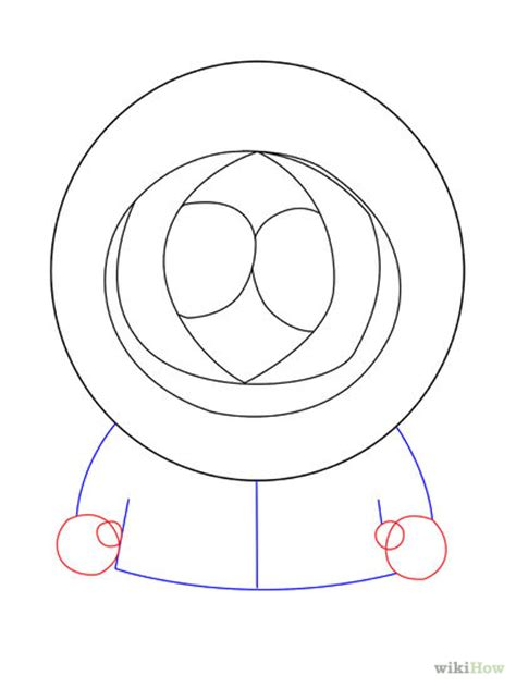 How To Draw Kenny From South Park Step By Step