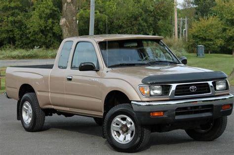 1996 Toyota Tacoma 4x4 Sell Used 1996 Toyota Tacoma Xtracab 4x4 2 7l 5 Spd A C 1