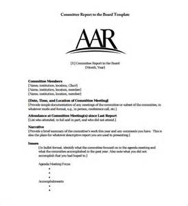 council report template 14 board report templates free sle exle format