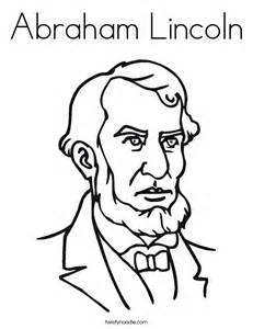 abraham lincoln coloring page abraham lincoln coloring page twisty noodle