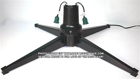 rotating tree stand for real trees rotating tree stands vintage and classic