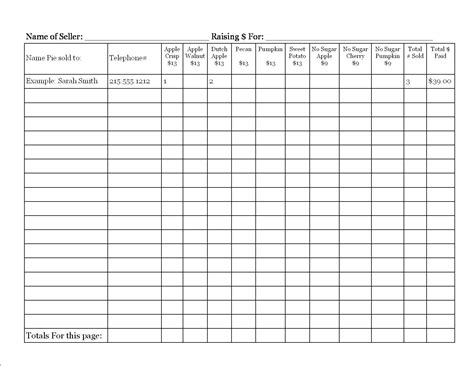School Donation Sheet Template Aiyin Template Source Fundraising Form Template