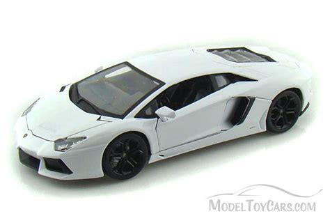 Lamborghini Model Cars Toys Lamborghini Aventador Lp700 White Bburago 1 18 Scale