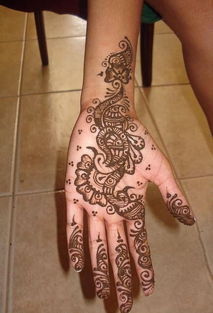 henna design in hand collection of mehendi designs for single hand mehendi