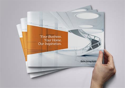 Design Inspiration Corporate Design | 25 really beautiful brochure designs templates for