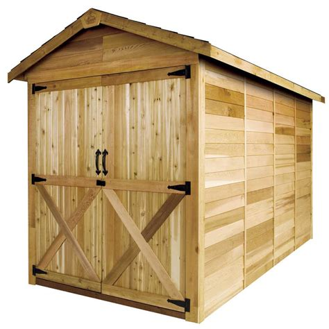 6x6 Shed Price Cedarshed Rancher 6x6 Shed R66 Free Shipping