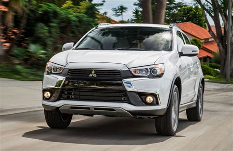 mitsubishi outlander sport 2016 black 2016 mitsubishi outlander sport official debut shows