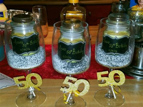 1000 ideas about 50th birthday centerpieces on