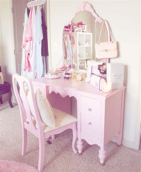 25 best ideas about pink vanity on