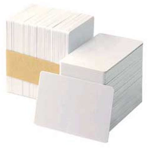 Hid Ultracard Adhesive Blankcard by Fargo Ultracard 10 Mil Adhesive Mylar Backed Cards 500 Cards