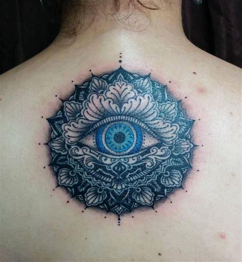 evil ink tattoo chronic ink toronto evil eye mandala