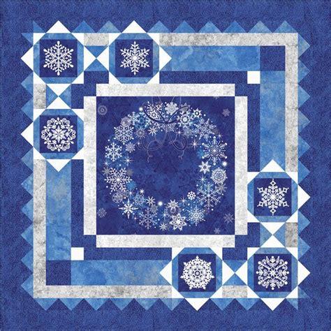 Winter Quilt Pattern winter quilt pattern snow quilt pattern bs2 331 advanced beginner and throw 10