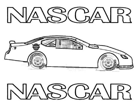 blank coloring pages cars blank nascar pages coloring pages