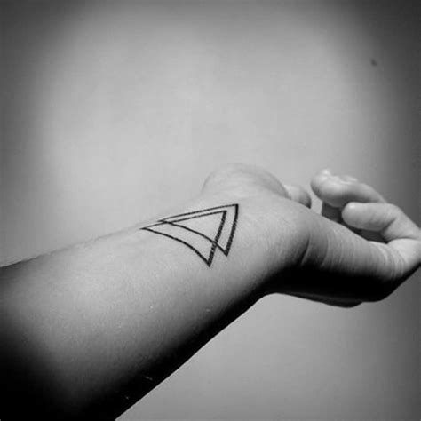 two triangles tattoo triangle images designs