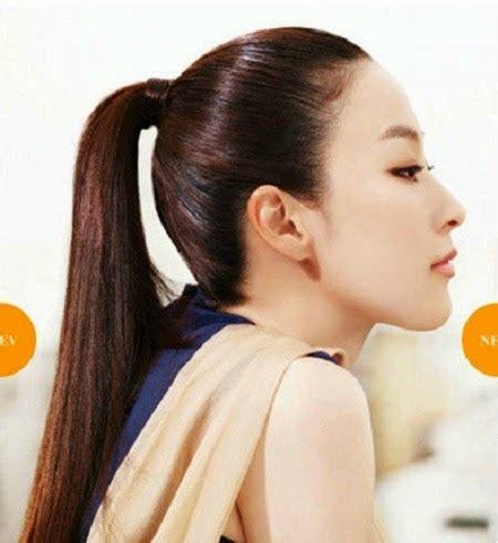 jepitan rambut buat pony model rambut korea untuk cewek terbaru tips model rambut