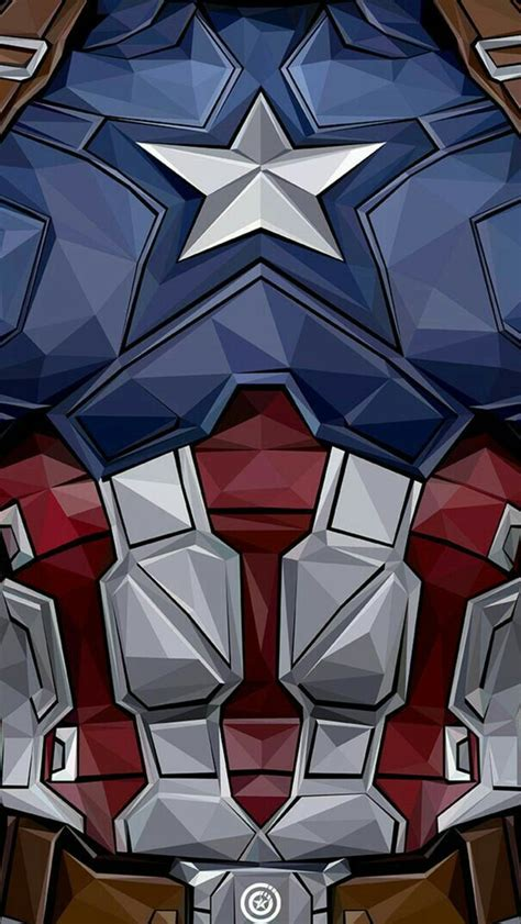 captain america chest iphone wallpaper iphone wallpapers