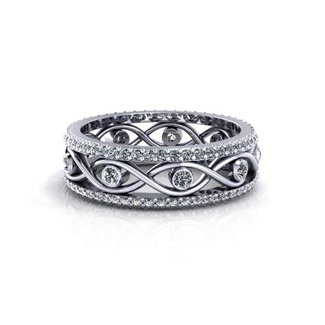 infinity wedding infinity engagement rings for