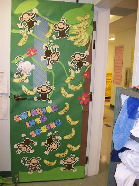 monkey themed classroom decorations 91 best images about classroom door ideas on