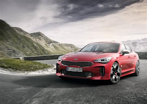 Kia G Official Kia Stinger Gt With 365hp V6 Turbo Gtspirit