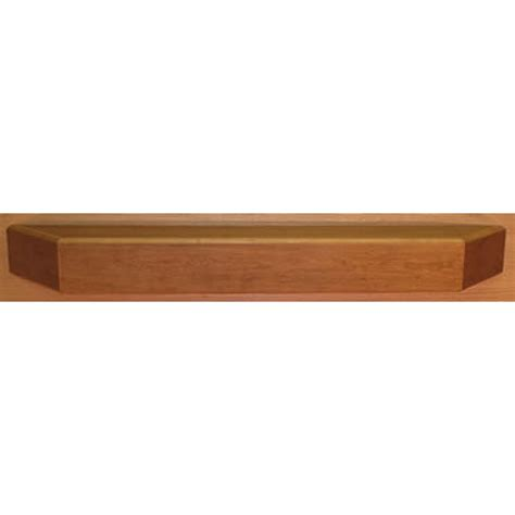 Contemporary Mantel Shelf fireplace front contemporary clear coat poplar mantel