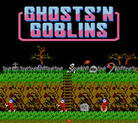 ghosts'n goblins™ | nes | jeux | nintendo