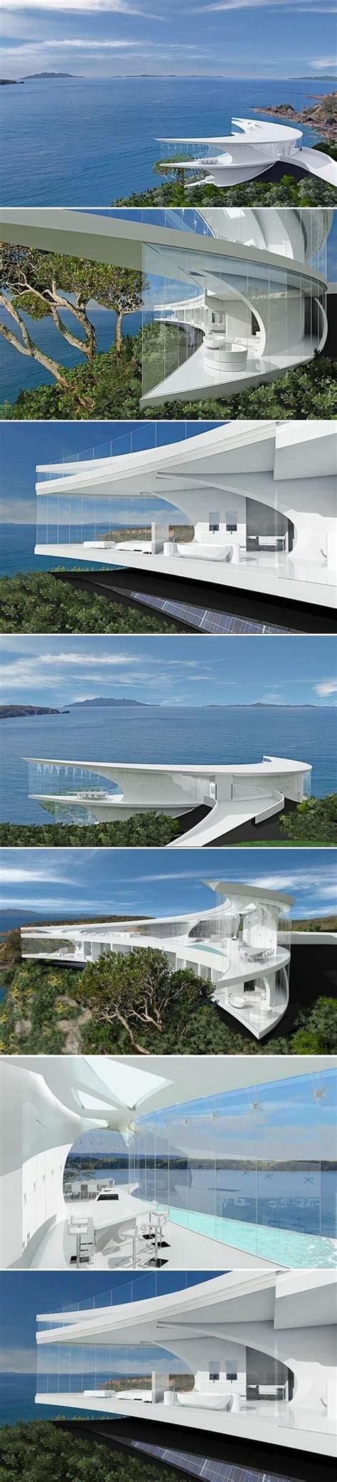 modern house design architecture  creative ice cube