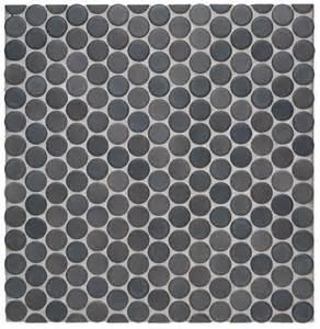 Waterworks graphite matte penny tile tile pinterest