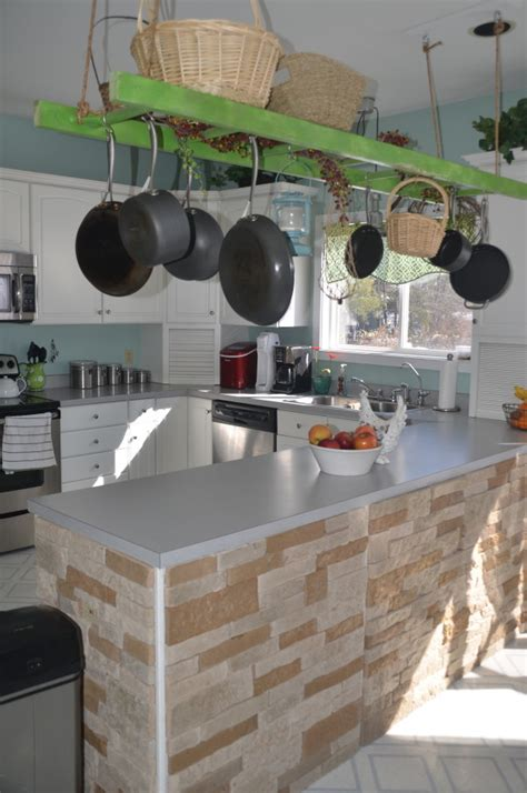 Outdoor Kitchen Idea by Ladder Rack Diy Project Littlethings