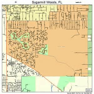 sugarmill woods florida map 1268950