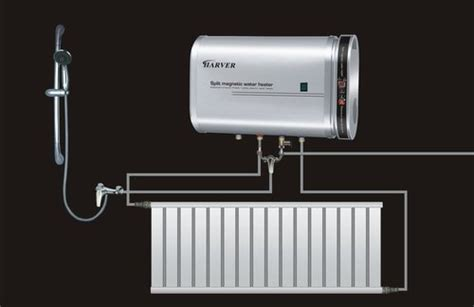 magnetic heat induction ce and cb approvaled split magnetic induction water heater with heating system cn 50l in
