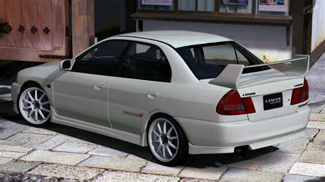 Grill Bumper Mitsubishi Lancer Evo 3 1993 1996 Chrome Paint 1996 mitsubishi lancer evolution iv gt5 by vertualissimo