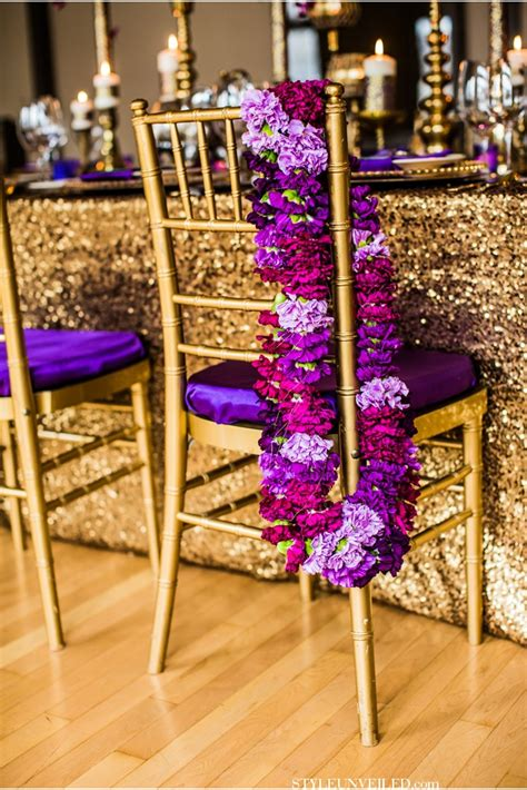 Purple And Gold Decorations by Gold And Purple Table Decorations Photograph Gold Luxe P