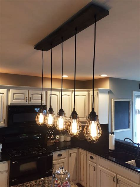 kitchen island chandelier lighting best 25 rustic kitchen lighting ideas on pinterest
