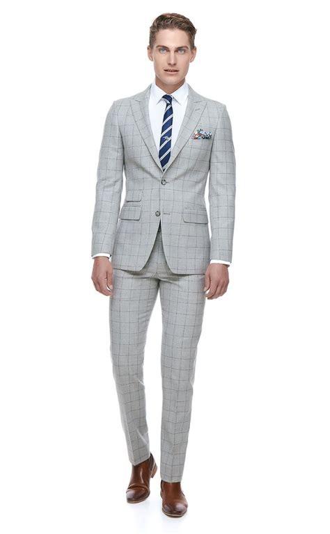Sliming Suit 3 In 1 grey slim fit suit bell barnett