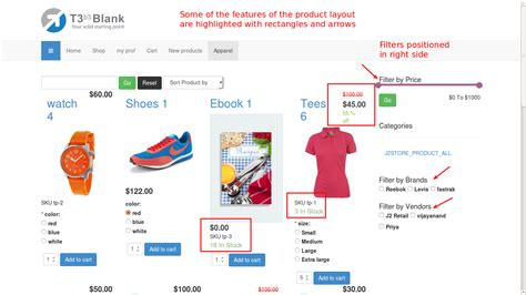product layout j2store support user guide