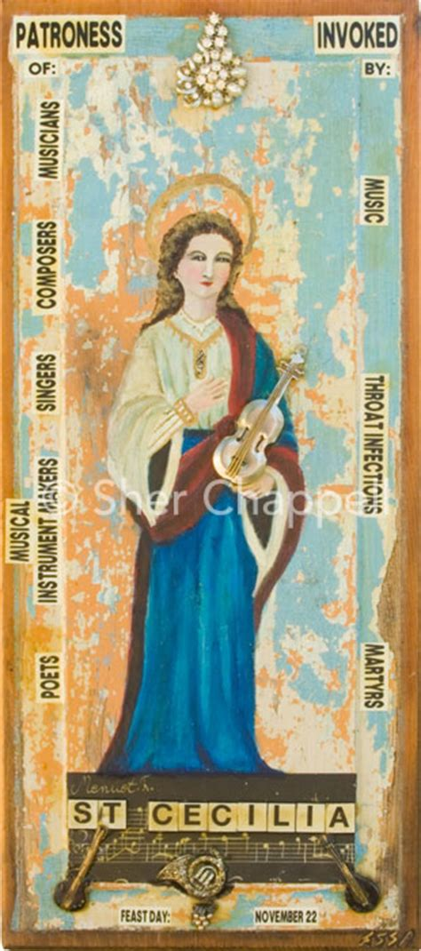 who was st cecilia