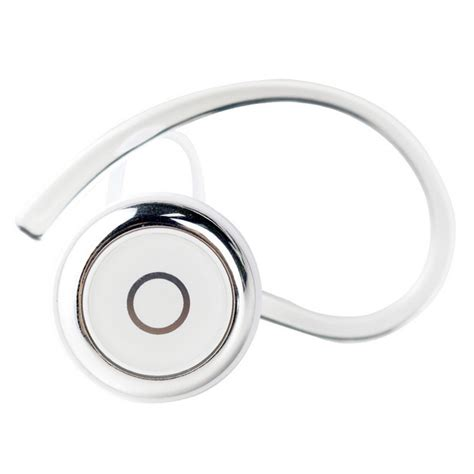 Bluetooth V4 0 Headset White g d smith wireless bluetooth v4 0 ear hook earphone