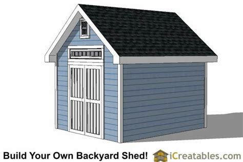 Tv Shed 10x12 traditional garden shed plans