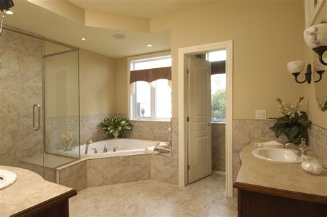 bathroom model ideas corner tub shower combo bathroom traditional with
