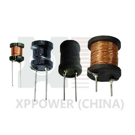 radial type inductor iso sgs radial type leaded pin power inductors with 1 0 to 10000uh inductance range xp power