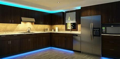 Kitchen Led Lighting Strips What Led Light Strips Or Ropes Are Best To Install Kitchen Cabinets Removeandreplace