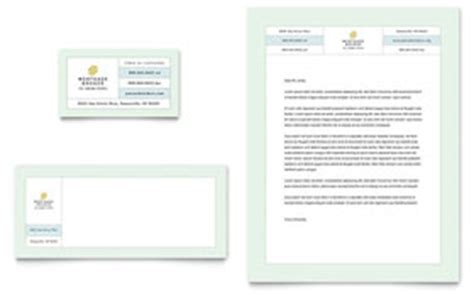 letterheads financial services templates designs