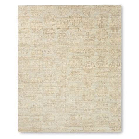 Zeba Rugs zeba knotted rug chagne williams sonoma