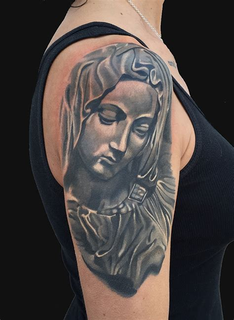 mother mary tattoo pictures of the
