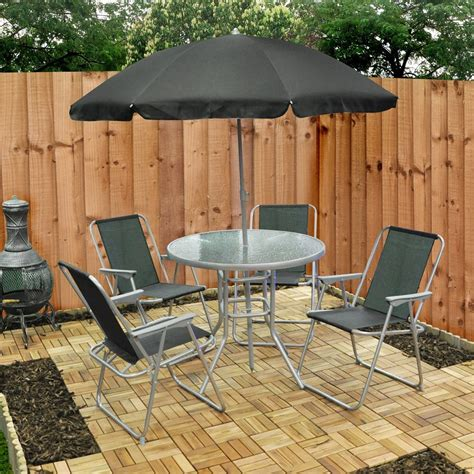 Buy cheap Folding dining table and chairs   compare Sheds